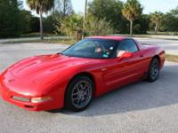 2001 CHEVROLET CORVETTE Z06 WITH 5.7 LITER LS6 V8