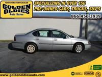 Options Included: N/AThis 2001 Chevrolet Impala has no