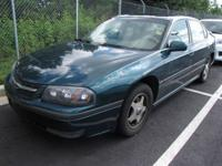 Options Included: N/AThis 2001 Chevrolet Impala 4dr 4dr