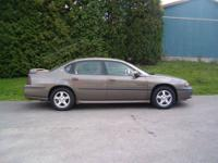 2001 Chevrolet Impala LS Automatic transmission with