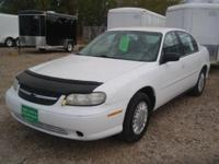 Options Included: N/A2001 CHEVY MALIBU MANY OPTIONS,