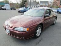 Options Included: N/ATHIS IS A 2001 CHEVROLET MONTE