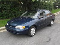 Options Included: N/A2001 Chevrolet Prizm (Corolla
