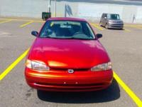 2001 Chevrolet Prizm same as Toyota Corolla with 86K