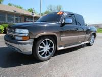2001 Chevrolet Extended Cab Stepside. SOUTHERN COMFORT