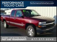 2001 Chevrolet Silverado 1500 CARFAX One-Owner.
