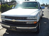 --2001 Chevrolet Silverado 1500 LS Ext. Cab Short Bed
