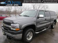 Duramax 6.6L V8 Turbocharged and 4WD. No games, just