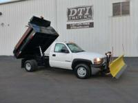 Great Running Dump Truck/ Plow Truck With Only 72K