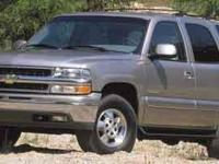4WD. 2001 Chevrolet TahoeAll prices are plus tax,