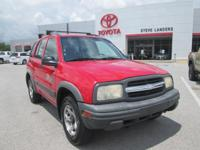 New Price! 2001 Chevrolet Tracker LT Hard Top 2.5L V6
