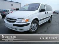 Options Included: N/AThis White 2001 Chevrolet Venture
