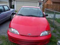 2001 CHEVY CAVALIER, GREAT CAR, VERY GOOD GAS MILEAGE