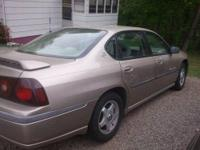 I have a 2001 Gold 4 door Impala. It has power windows