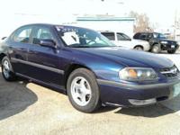 2001 Chevy Impala LS Sedan: 3800 V6 engine automatic