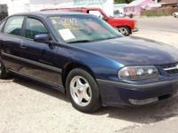 For sale: 2001 Chevrolet Impala LS 3800 V6 engine