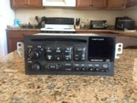 Used 2001 radio/cd player for a chevy s-10. Still in