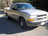2001 Chevy S10 Ext.Cab Pickup truck. This truck is very