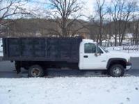 2001 Chevy Duramax Diesel Dump Truck Selling this 2001