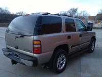 2001 Chevy Tahoe LS 160,466 miles. 4x4 towing package