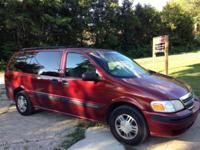 2001 Chevy Venture Van Maroon Exterior / Grey Interior