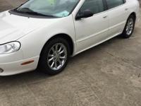 Options:  2001 Chrysler Lhs Base 4Dr Sedan White Clean