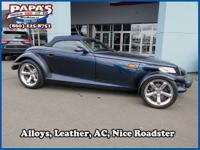 Blue 2001 Chrysler Prowler RWD 4-Speed Automatic 3.5L