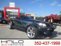 2001 PLYMOUTH PROWLER SPORTS CAR CONVERTIBLE. THIS CAR