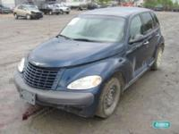 Options Included: N/AChrysler PT Cruiser SW L4 2.4L LHD