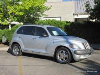 PT Cruiser Bright Silver Metallic exterior and
