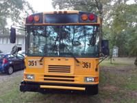 2001 city school bus,  cranks and runs good, all
