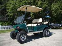 This cart is ready for hunting season! 2001 Club Car 48