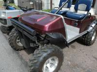 2001 club car golf cart gas powered jakes lift kit I T