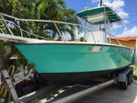 2001 Cobra 23 Center Console boat that has plenty of