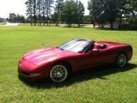 For sale is a 2001 Chevy Corvette that has had