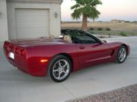 Up for sale is a 2001 Corvette Convertible that is very