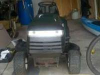 "2001 Craftsman riding mower. 42"" deck 14.5 HP Briges &"