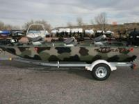 Year:2001Condition:Used 2001 Crestliner All-Welded 1754