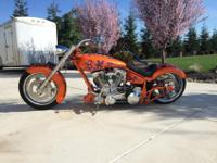 2001 Custom Built Motorcycles Pro Street Chopper