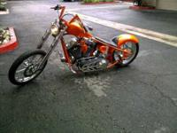 Make Custom Chopper Model Softail Price $13,500 Color