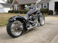 1999 Custom Motorcycle, one owner, pampered, never in