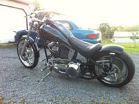 For sale is a 2001 Custom built rigid chopper. $12000
