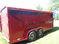 Very nice 2001 Delta 3-horse gooseneck trailer for