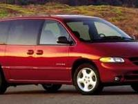 This Blue 2001 Dodge Caravan SE might be just the mini