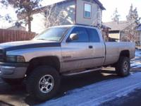 2001 Dodge Cummins 4x4 extended cab long bed, on 35's,