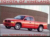 This Red 2001 Dodge Dakota Sport might be just the