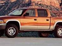 Dodge Dakota Next Generation Magnum 4.7L V8, 4WD.