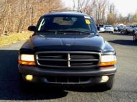2001 Dodge Durango,4WD,2 owners,SLT,V8,Automatic