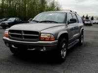 Very clean 2001 Dodge Durango R/T V8 5.9L engine 4*4 in