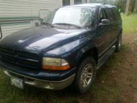 I have a 2001 Dodge Durango SLT that needs a new
